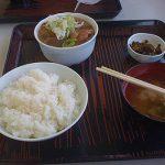 筑波サーキット名物(モツ定食食べたよ!