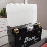 CBR600F4i バッテリー交換