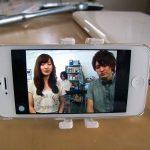 iPhoneスタンドww