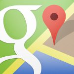 やっとこさGoogleマップ登場