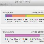 HDDの空き容量