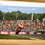 HONDAモータースポーツカレンダーが届いた!