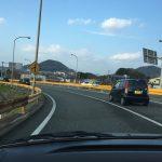 福岡旅行2日目 その2 黄色いガードレールと門司港レトロ