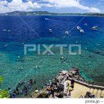 PIXTAで真栄田岬の写真が売れました