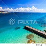 PIXTAで夏の瀬底島の写真が売れました