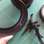 レンズキャップアダプター修理