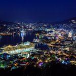 長崎旅行2日目 その4 鍋冠山夜景撮影編