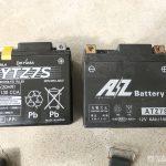 バッテリー交換と車検点検