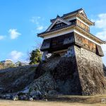 2017-2018 年越し旅行 2日目 熊本城と加藤神社
