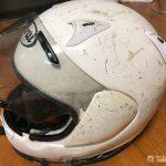レジェンドに勝利した伝説のヘルメット引退へ。