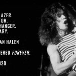 Eddie Van Halen 逝く