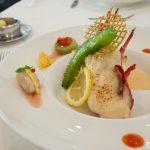 琉球サンロイヤルホテルのボルドーで食事
