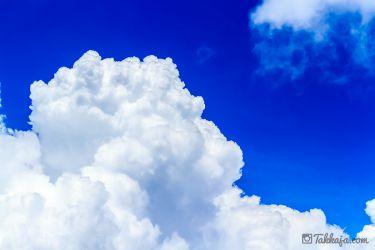 沖縄 夏の雲